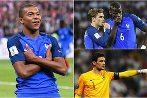 Số áo của ĐT Pháp ở World Cup 2018: Pogba số 6, Mbappe kế thừa Zidane