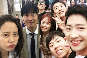 Jung Il Woo - Lee Sang Seob bất ngờ xuất hiện cùng gia đình 'Running Man' tại đám cưới PD Hwan Jin