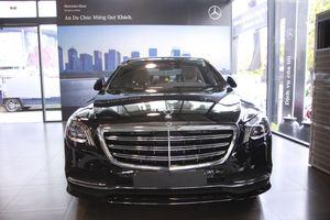 Khám phá nội - ngoại thất Mercedes-Benz S450 L tại Hà Nội