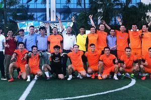 Đánh bại VTV FC, Đội bóng VOV vào chung kết Press Cup 2018