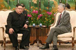 Ông Kim Jong Un gặp Thủ tướng Singapore Lý Hiển Long