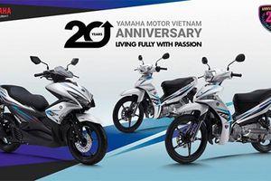 Loạt xe máy Yamaha phiên bản kỷ niệm 20 năm tại Việt Nam