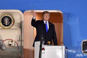 Tổng thống Mỹ Donald Trump tới Singapore