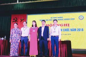 CĐ trường ĐH Công nghiệp Quảng Ninh phối hợp tổ chức Hội nghị CBCCVC năm học 2018-2019