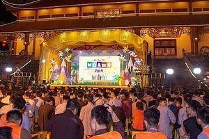 Khai mạc khóa tu mùa hè năm 2018 tại chùa Ba Vàng