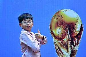 Cậu bé Việt Nam xuất hiện trong trận chung kết World Cup 2018 là ai?