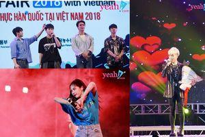 Những khoảnh khắc đáng nhớ của Highlight, Hyun A và Đức Phúc trong Ha Noi Kfood Fair 2018