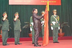 Quân khu 5 đón nhận Huân chương do Chủ tịch nước Lào trao tặng