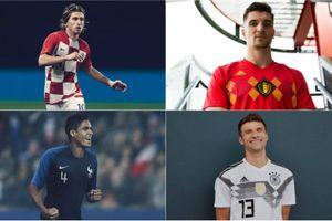 Mẫu áo thi đấu nào hấp dẫn nhất mùa World Cup 2018