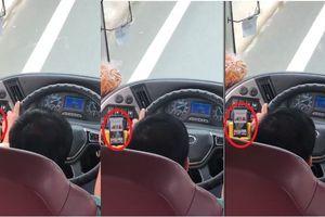 Nghi vấn tài xế xe khách Phương Trang vừa lái xe vừa coi phim người lớn