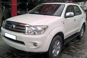 Dùng chán, Toyota Fortuner 2010 vẫn thét giá 655 triệu ở Hà Nội