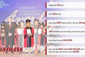 Gặp gỡ học sinh Việt Nam đạt 119/120 điểm TOEFL iBT