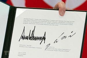 Toàn văn Tuyên bố chung Mỹ-Triều sau hội nghị thượng đỉnh lịch sử