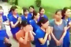 UBND thị trấn Thanh Chương nói về việc hàng chục giáo viên quỳ gối khóc xin không đóng cửa trường mầm non