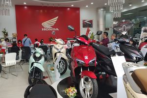 Vào hè, doanh số xe máy Honda sụt giảm chục nghìn xe