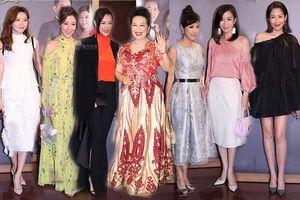 Dàn sao TVB họp mặt đông đủ hơn cả lễ trao giải mừng hỷ sự nhà Tiết Gia Yến