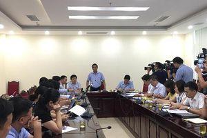 UBND quận Ba Đình thông tin xử lý vi phạm tại Dự án Cống hóa mương Phan Kế Bính