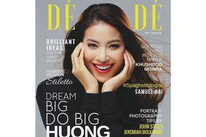 Phạm Hương lên bìa tạp chí 'Dé Modé' của Ý