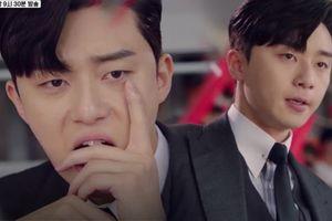 'Bấn loạn' trước biểu cảm ghen tuông dễ thương của Park Seo Joon trong phim 'Thư ký Kim'