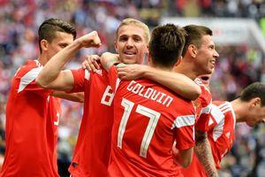 Ả Rập Xê Út quá yếu, Nga thắng tưng bừng trận ra quân World Cup