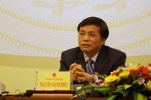 Tổng thư ký Quốc hội: 'Luật An ninh mạng sẽ bảo vệ doanh nghiệp và người dân'