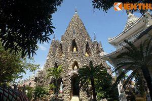 Cận cảnh tòa tháp vỏ ốc độc nhất vô nhị Việt Nam
