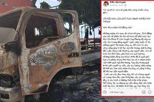 Chủ tịch huyện ở Bình Thuận 'lên' facebook kêu gọi dân không nghe xúi giục, gây rối