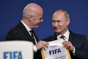 Putin sẽ 'ghi bàn' phá trận Mỹ-Phương Tây với World Cup 2018