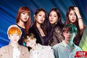 MV Kpop tuần qua: 4 cô nàng BlackPink đơn độc 'chiến đấu' cùng dàn mỹ nam