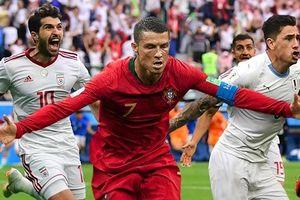 Ronaldo và đội hình tiêu biểu sau loạt trận World Cup tối qua