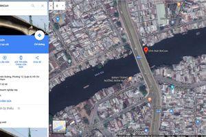 Cây cầu 'vĩnh biệt Bitcoin' ở Sài Gòn trên Google Maps