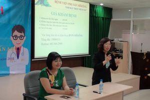 Tư vấn sức khỏe sinh sản cho công nhân