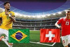 Trực tiếp bóng đá World Cup 2018 trận Brazil vs Thụy Sĩ trên VTV6