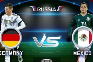 Đức 0-1 Mexico: 'Xe tăng' thất thủ
