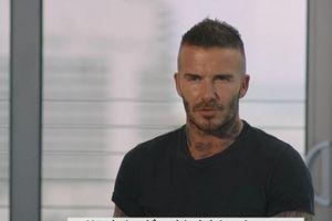 David Beckham bật mí về gia đình trong Ngày của cha