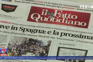 Italy từ chối tiếp nhận các tàu cứu hộ của các tổ chức phi chính phủ