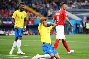 ĐT Brazil ra quân thất vọng với trận hòa 1-1 trước Thụy Sĩ