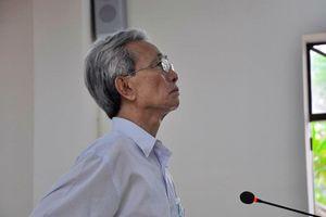 Sáng nay, ông Nguyễn Khắc Thủy tự giác đi thi hành án