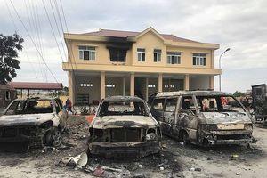 Khởi tố, bắt tạm giam 10 bị can gây rối ở Bình Thuận