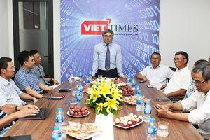 Thăm VietTimes, Chủ tịch Nguyễn Minh Hồng: 'Đưa VietTimes thành kênh thông tin tin cậy trong lòng bạn đọc'