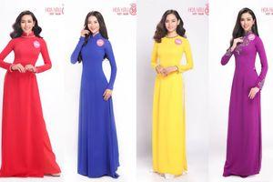 Thí sinh Hoa hậu Việt Nam 2018 diện áo dài khoe sắc rực rỡ, cuộc chiến 'không khoan nhượng' đã bắt đầu