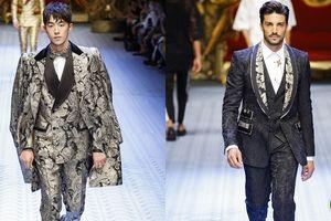 Mãn nhãn với mỹ nam mặc suit của Dolce & Gabbana