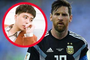 Trịnh Thăng Bình gây tranh cãi vì 'đá xoáy' Messi hụt penalty