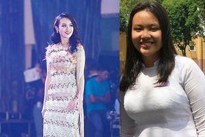 Thí sinh Hoa hậu Việt Nam 2018 từng nặng 90kg giảm cân thế nào?