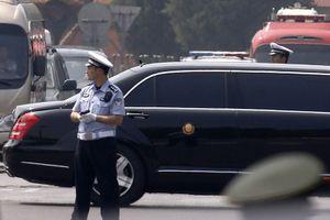 Xe hơi nghi chở ông Kim Jong-un xuất hiện tại Bắc Kinh
