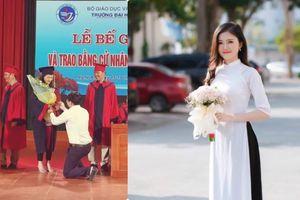 9X ĐH Vinh được thầy giáo cầu hôn: Người đâu vừa xinh, giỏi giang, lại vừa đảm!