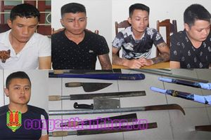 Nhóm giang hồ chuyên dùng súng bảo kê, đòi nợ thuê ở Thanh Hóa sa lưới