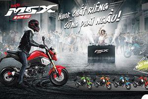 Chi tiết Honda MSX bản 2018 giá 49,9 triệu tại Việt Nam