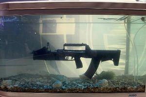 Đáng gờm sức mạnh khẩu súng trường bắn dưới nước của Đặc nhiệm Nga