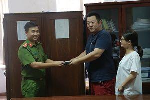Du khách người Nhật gửi thư cảm ơn Công an tỉnh Thừa Thiên-Huế